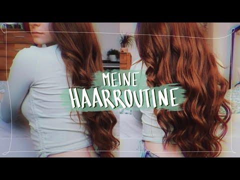 ✨finally✨ MEINE HAAR ROUTINE - Lange, gesunde Haare & Beachy Waves