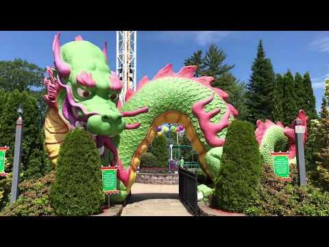 Funtown Splashtown USA June 2019 Park Footage