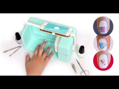 Nailbot The Smartphone Nail Art Printer La Impresora Para Pintarte Las Uñas Con Imágenes Del Móvil Youtube