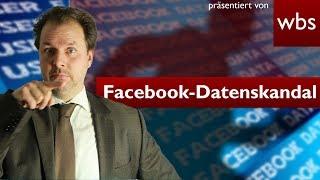 Facebook-Datenskandal – Können deutsche Nutzer klagen? | Rechtsanwalt Christian Solmecke