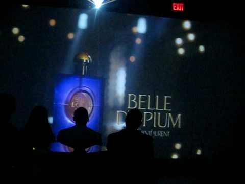 Feb 3, 2011. The tv ad for belle d'opium perfume showed a woman dancing to a drum beat, pointing to her inner elbow and running her finger along the inside of her forearm.