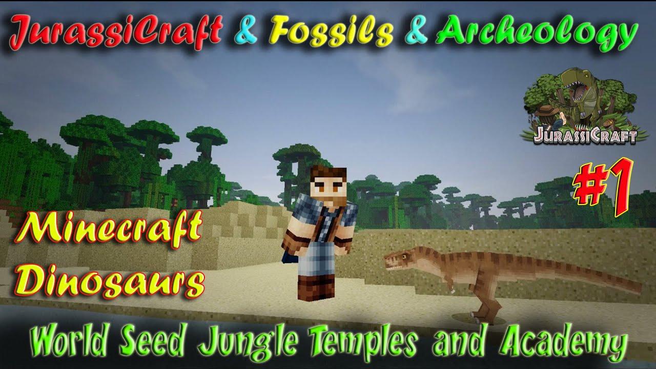 Jurassicraft Fossils