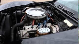 1977 Black Cherry Corvette 350 Crate Motor