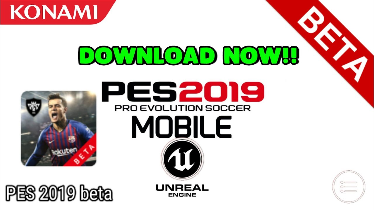 PES Mobile 2019 Beta Download APK + OBB