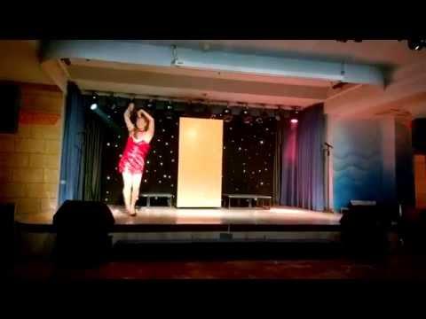 Rebecca Draper dancing Copacabana at the Yaramar