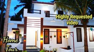 ഞങ്ങളുടെ വീടൊന്ന് ചുറ്റി കണ്ടാലോ ||My Home Tour||Highly requested||New House||House vlog|simple home