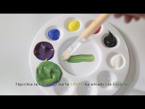 Ngā Tae - Colours