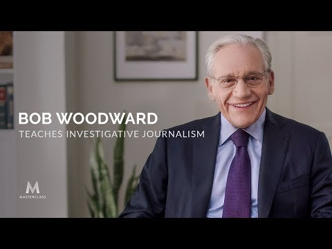 Bob Woodward Teaches Investigative Journalism Trailer | Official Trailer