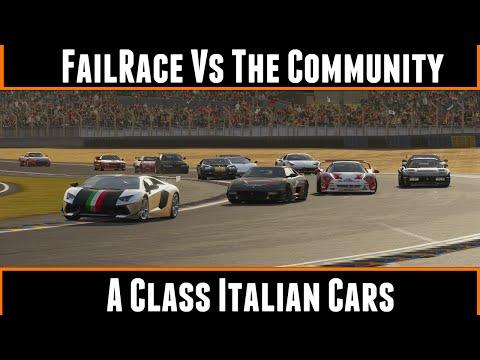 FailRace Vs The Community A Class Italian Cars