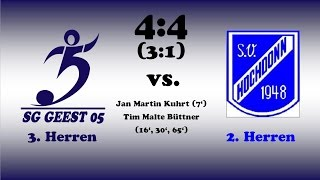 Highlights SG Geest 05 III vs. SV Hochdonn II - 17.04.2016