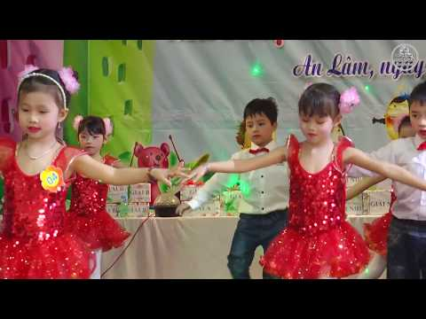 """Nhảy Zumba Theo phong cách La Tinh trên nền nhạc """"No Face No Name No Number"""" - Các bé lớp 5 tuổi."""