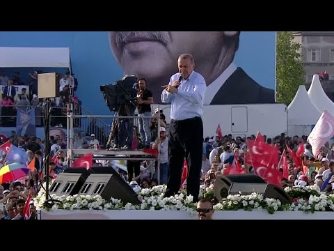 ملايين الأتراك يصوتون في انتخابات رئاسية وتشريعية حاسمة لمستقبل البلاد  - نشر قبل 1 ساعة