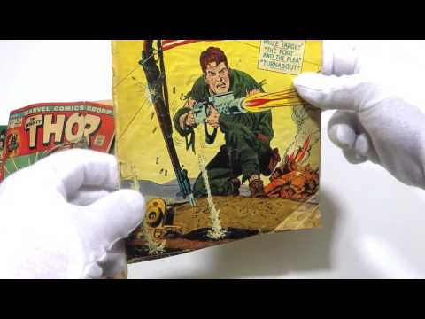 Comic Book Pressing and Spine Roll Fix