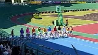 日本競輪学校93回生のエキシビジョンレース 京都向日町競輪 2007年