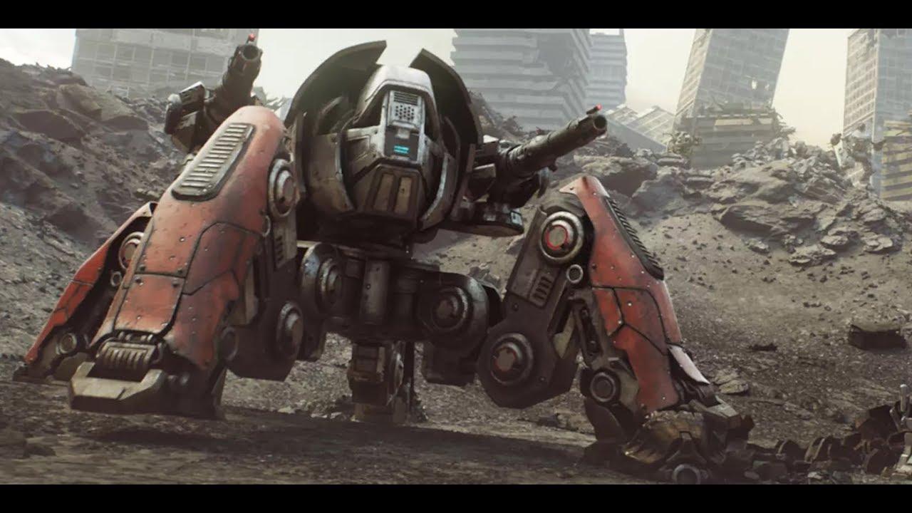 War robots trailer | Трейлер
