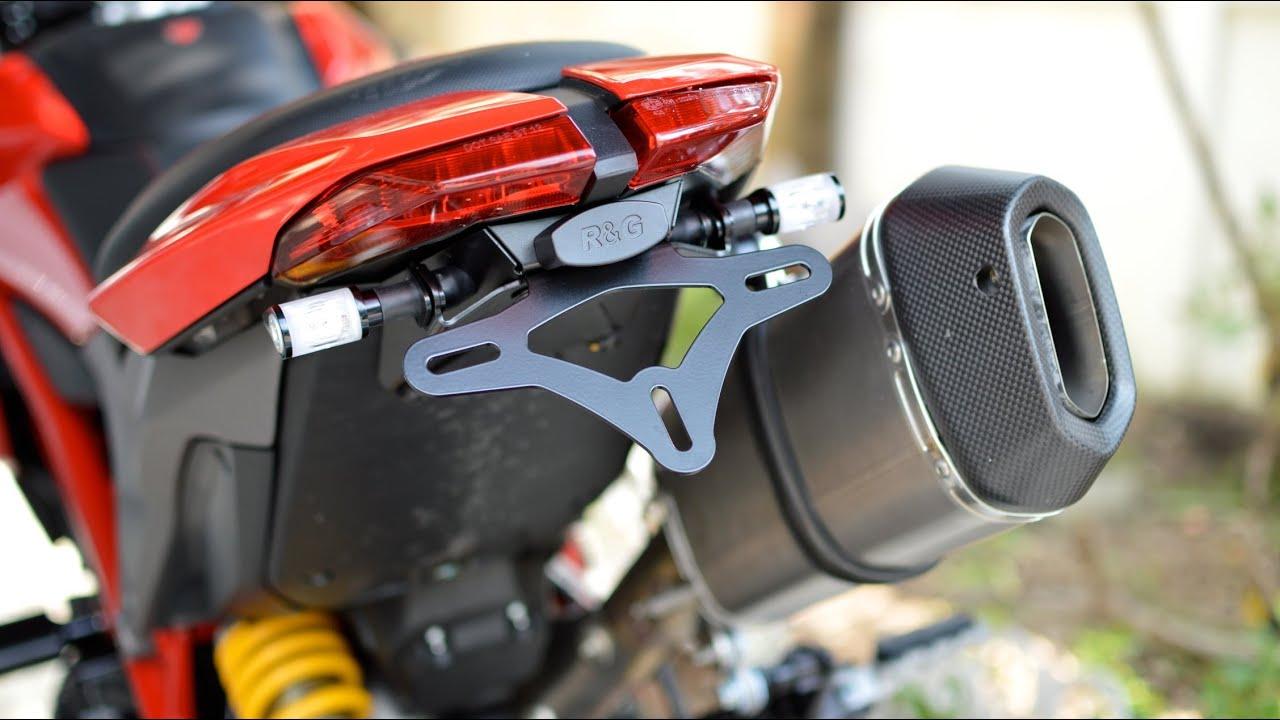 Ducati Hypermotard 939 >> Hypermotard 821 Modify Step1 - YouTube