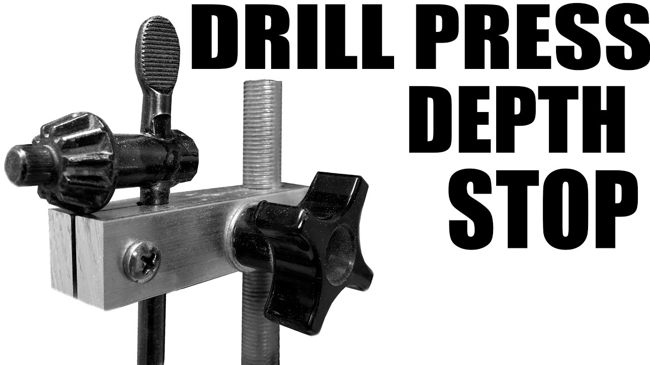 The Best Drill Press Depth Stop And Key Holder Youtube