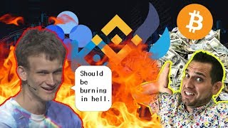 "$5,000,000 Bitcoin?!? ""I Hope Centralized Exchanges Burn In Hell!"" - Vitalik 