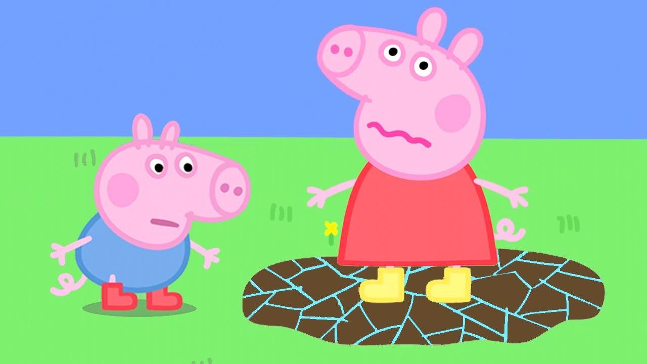 Peppa Pig in Hindi - Very Hot Day - Garmi ka Din - Hindi Cartoons for Kids