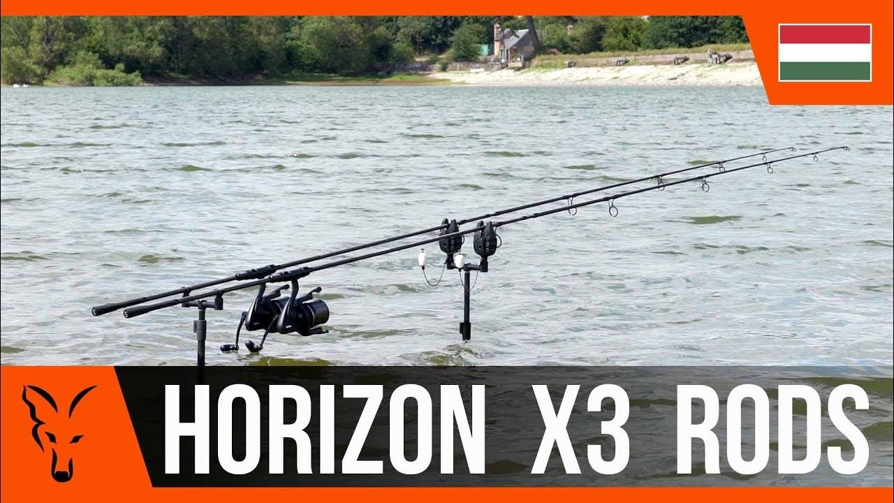 a23bb6d3db FOX Horizon® X3 Abbreviated Handle 10ft 3.00lb Premium bojlis bot (CRD285)  3,0m - Díszállat és Horgászcikk termékek diszkont áron, akciósan!