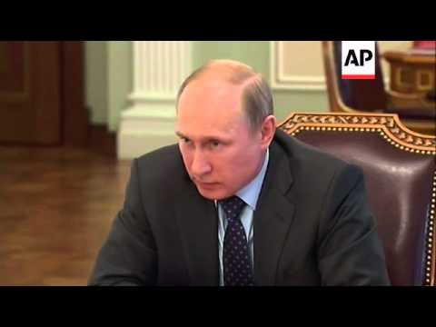 Putin says Russia could ask Ukraine to pay for gas in advance