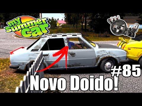 My Summer Car - MAIS UM DOIDO NO ROLÊ! #85 (G27 mod)