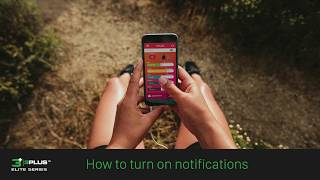 3Plus Vibe: How to turn on notifications