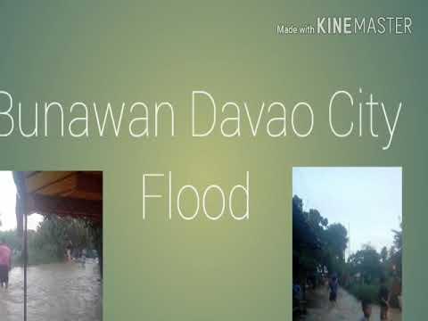 Bunawan fatima Davao City Flood
