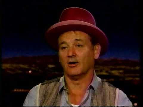 BILL MURRAY INTERVIEW 1997, TALKS ABOUT GILDA RADNER