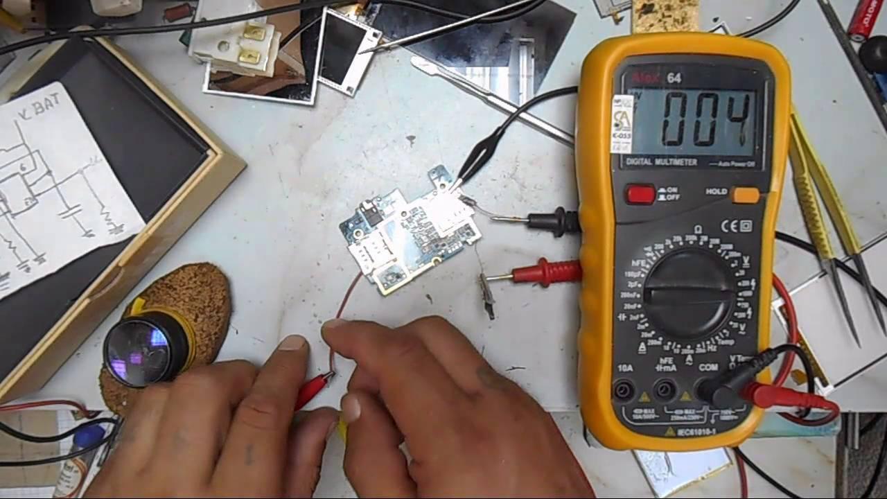 ремонт сотовых , подсветка дисплея - YouTube
