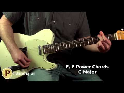 Pearl Jam - Corduroy Guitar Lesson