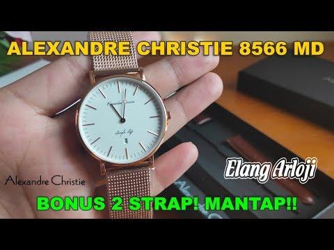 jam-tangan-alexandre-christie-ac-8566-unboxing-dan-review---elang-arloji