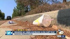 Neighbors say crime increasing along quiet road in Rancho Penasquitos