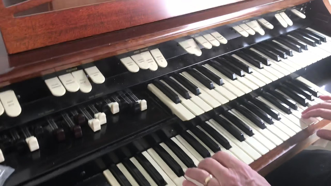 hammond church organ for sale youtube. Black Bedroom Furniture Sets. Home Design Ideas