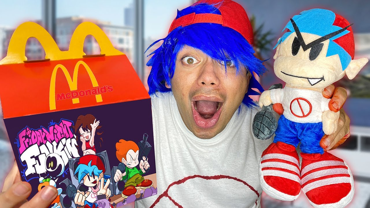 DO NOT ORDER FRIDAY NIGHT FUNKIN HAPPY MEAL FROM MCDONALDS AT 3AM!! (HE CAME AFTER US!!) FNF Mod