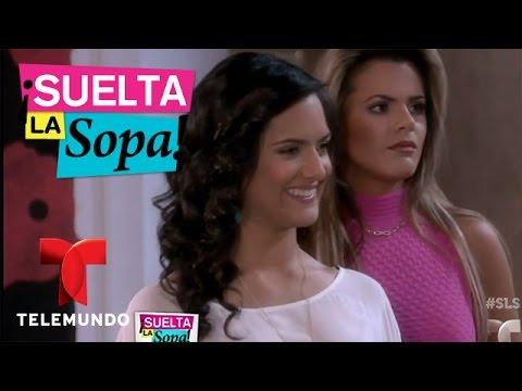 Suelta La Sopa | Bloopers de la telenovela Tierra de Reyes | Entretenimiento