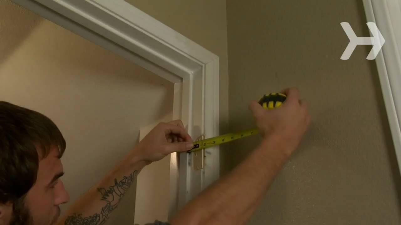 How To Hang A Door Youtube