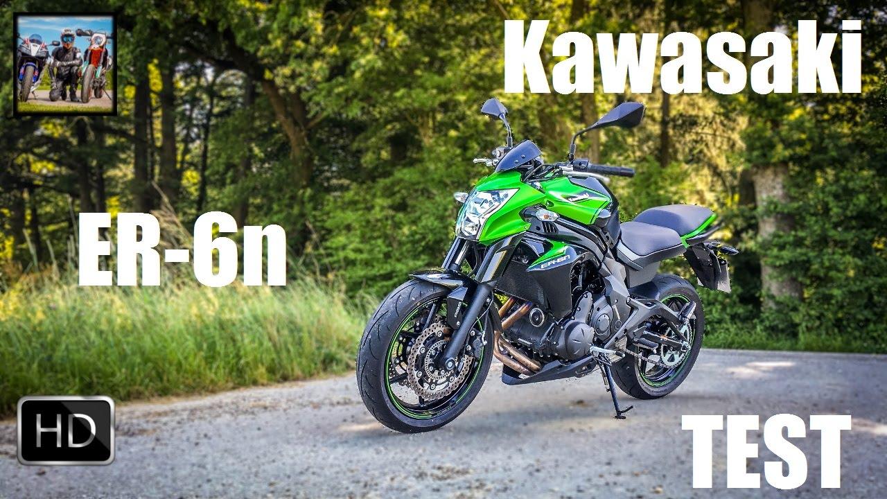 Kawasaki Er 6n Test Ein Gutes Einsteigerbike Youtube