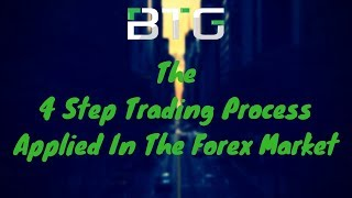 "The ""4-Step Trading Process"" Applied In The Forex Market"