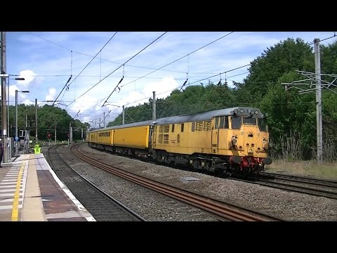 WCML Misc Rail Action at Lancaster Castle Stn on 07/07/14