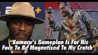 Jorge Masvidal Explains What He Is Going To Do To Kamaru Usman