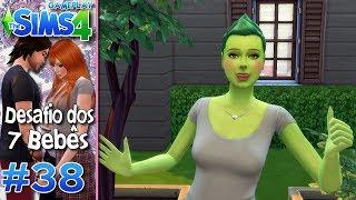 CHERRY VIROU UM SIM PLANTA - Desafio dos 7 Bebês #38 - The Sims 4