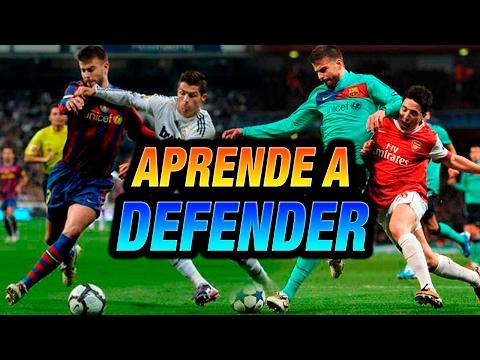 TUTORIAL: APRENDE a DEFENDER como un JUGADOR de ÉLITE - Sergio Ramos, Piqué, Godín