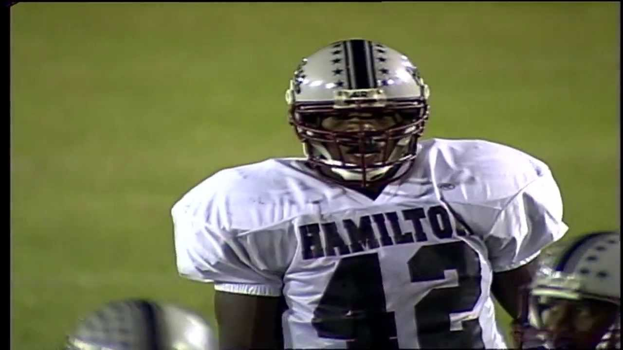 Baltimore Raven Terrell Suggs Playing for Hamilton High School