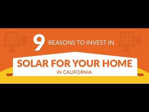 Infographic Video  9 Reasons to invest in solar panels by AWS Solar Los Angeles