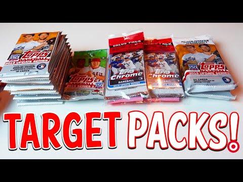 MORE TARGET PACKS! IRL Baseball Pack Opening