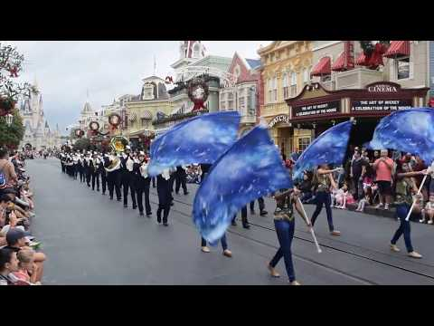 American Christian Academy and Saint Thomas Aquinas High School Marching Bands - Disney World
