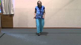 Rejoice in Dance - Teaching video of basic steps in Israeli folk dancing