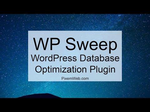 WP Sweep - WordPress Database Optimization Plugin - WP Speed