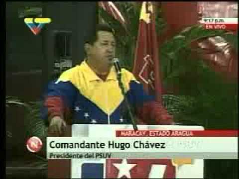Presidente Chávez en Maracay
